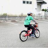 \ポプリ de 自転車の練習/
